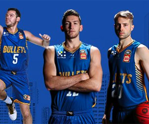 NBL Basketball 18//19 Cam Bairstow Brisbane Bullets 18//19 Authentic Jersey